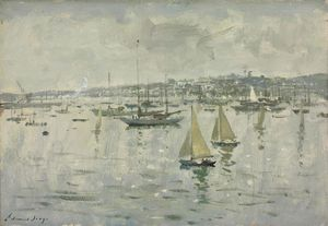Summer morning, cowes