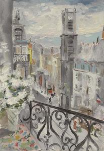 Rue st jacques, paris, (1937)