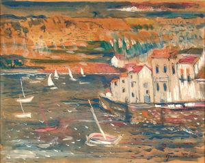 Sailers near the Coast
