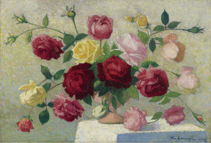 Bouquet of Roses, (1922)