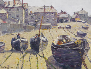 Beach at Low Tide, (1927)