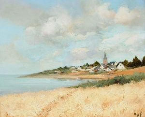 Arzon, View to Croisty, Brittany