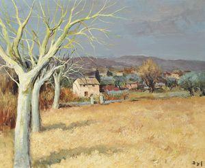 Countryside, Tourette-sur-Loup, (1970)