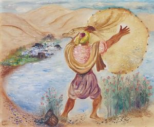 Fisherman with a Large Net, (1942)