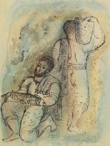 Pêcheur, (1954)