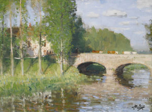 Bridge upon the River, Sainte-Gemme-Moronval