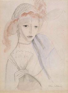Femme à l'éventail (1913)