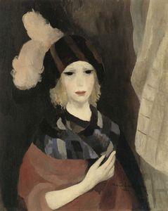 La Femme au chapeau à plumes (1924)
