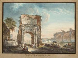 L'arc de titus a rome