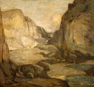 A rocky solitude