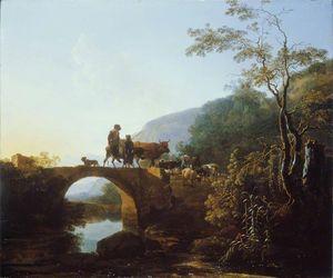 Bridge in an Italian Landscape