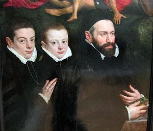 Antonio del rio ladies aertseleer and her two children