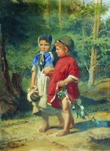 Peasant children