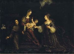 Mystic Marriage of St. Catherine with St. Anthony of Padua