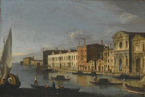 Venice, the Santo Spirito and the Zattere