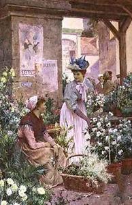 The flower market boulogne