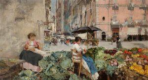 Vegetable market, naples