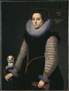 Portrait of Hester della Faille