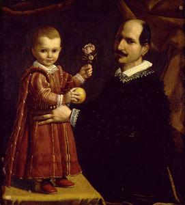 Un homme avec un enfant