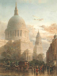 St. Paul's in the evening