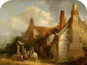 The old gardener's arms