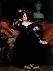 Portrait of Madame Jules Antoine Droz