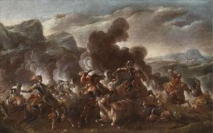 Battle scene from the Turkish Wars.