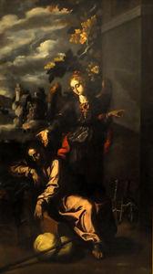 The dream of Saint Joseph