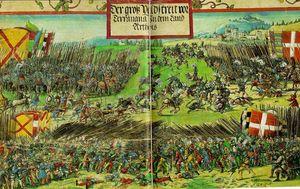 Srazhenie Gvinegate when a series of 'Triumph of the Emperor Maximilian'