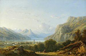 The Lake of Wallenstadt
