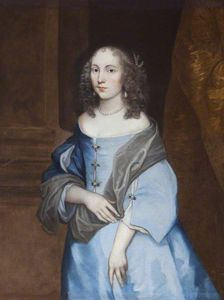 Portrait of an Unknown Young Lady in a Blue Dress