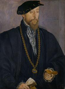 Portrait of Pankraz von Freyberg to Hohenaschau