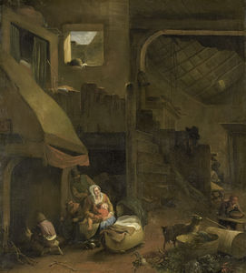 Interior of a Peasant Hut