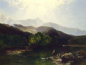 A trout stream, north wales