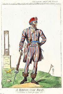 A Republican Beau. A Picture of Paris for (1794)