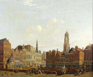 Utrecht Town Hall Bridge with Surroundings