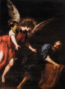 apparition of Saint Peter