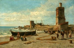 Coast scene