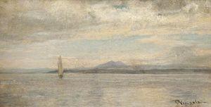 Grey sea, arran