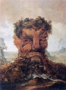 From a series of four seasons in anthropomorphic landscapes, Allegory of summer