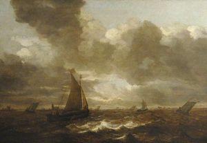 Seascape off Dordrecht