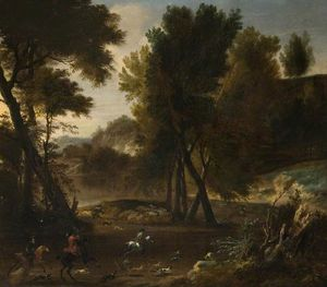 A stag hunt
