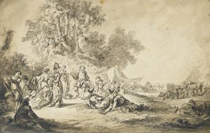 The open-air dance