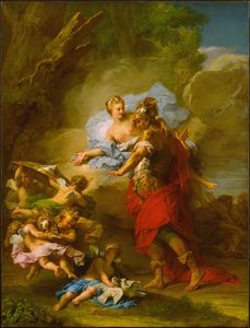 Arms to Aeneas