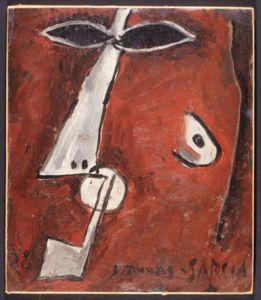 Mascara con pipa, paris - (1928)