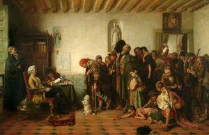 スペインで乞食のライセンス