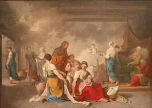 Birth of the Virgin (sketch).