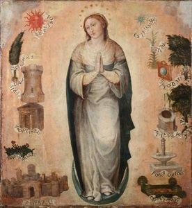 The immaculate Virgin