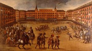 Festivities in the Plaza Mayor