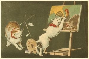 Canvas and Cats